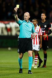 referee Siemen Mulder during the Dutch Eredivisie match between sbv Excelsior Rotterdam and Sparta Rotterdam at Van Donge & De Roo stadium on October 21, 2017 in Rotterdam, The Netherlands