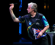 Justin Thompson during the BDO World Professional Championships at the O2 Arena, London, United Kingdom on 4 January 2020.