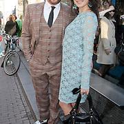 NLD/Amsterdam/20110328 - Uitreking Rembrandt Awards 2011, Arno Toonen en partner Birgit Schuurman