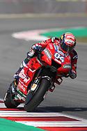 #4 Andrea Dovizioso, Italian: Mission Winnow Ducati Team during the Gran Premi Monster Energy de Catalunya at Circuit de Barcelona – Catalunya, Barcelona, Spain on 15 June 2019.