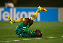 Lerato Lamola of Golden Arrows during the 2016 Premier Soccer League match between Golden Arrows and Cape Town City FC held at the Prince Magogo Stadium in Durban, South Africa on the 14th September 2016<br /> <br /> Photo by:   Steve Haag / Real Time Images