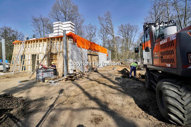 Nederland, Doetinchem, 22-3-2019Tussen Doetinchem en Gaanderen is waterbedrijf Vitens bezig met de bouw van een nieuw pompstation om de drinkwatervoorziening voor de regio in de toekomst te waarborgen.Foto: Flip Franssen