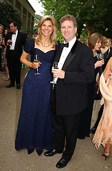WILLIAM & LUCY ASPREY at the Game Conservancy Jubilee Ball in aid of the Game Conservancy Trust held at The Hurlingham Club, London SW6 on 26th May 2005<br />