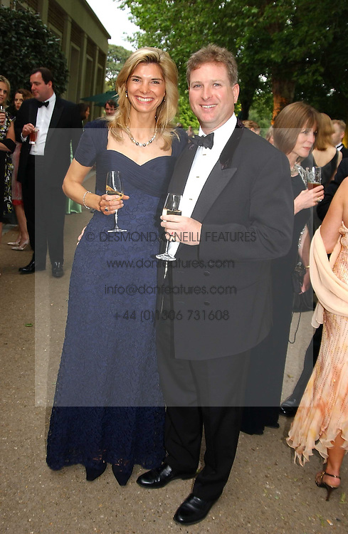 WILLIAM & LUCY ASPREY at the Game Conservancy Jubilee Ball in aid of the Game Conservancy Trust held at The Hurlingham Club, London SW6 on 26th May 2005<br /><br />NON EXCLUSIVE - WORLD RIGHTS