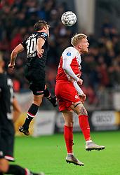 23-11-2019 NED: FC Utrecht - AZ Alkmaar, Utrecht<br /> Round 14 / Simon Makienok #23 of FC Utrecht, Stijn Wuytens #30 of AZ Alkmaar