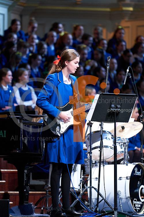 2017 Music Festival, Music, Music Festival, Music Festival Rehearsal, Rehearsal, Final Rehearsal, Performing Arts, Sydney Town Hall, Concert, Town Hall, Bass Guitar, Laura Ferguson