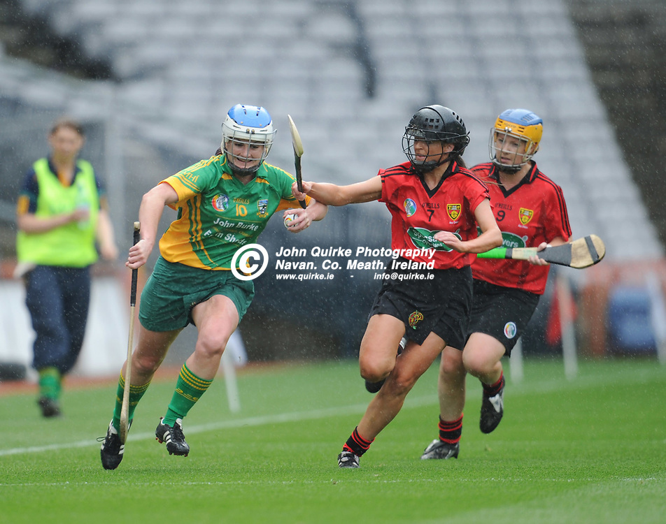16-09-12. Meath v Down All-Ireland Premier Junior Camogie Championship Final at Croke Park.<br /> Edel Guy, Meath.<br /> Photo: John Quirke / www.quirke.ie<br /> ©John Quirke Photography, Unit 17, Blackcastle Shopping Cte. Navan. Co. Meath. 046-9079044 / 087-257945.