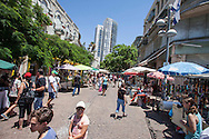 tel Aviv, Allemby neighborhood. Il quartiere di Allemby