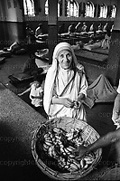 Mother Teresa of Calcutta seen at the home for the destitute and dying in Calcutta, India in 1969.<br /> Photo Terry Fincher