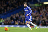 Cesc Fabregas of Chelsea in action. Barclays Premier league match, Chelsea v Manchester Utd at Stamford Bridge in London on Sunday 7th February 2016.<br /> pic by John Patrick Fletcher, Andrew Orchard sports photography.