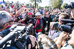 September 3, 2017 - Monza, Italy - Motorsports: FIA Formula One World Championship 2017, Grand Prix of Italy, ..#44 Lewis Hamilton (GBR, Mercedes AMG Petronas F1 Team) (Credit Image: © Hoch Zwei via ZUMA Wire)