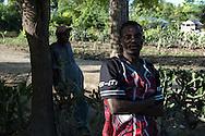 Residents of the region of Souvenance, Haiti. January 23, 2008.