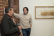 PIERS SECUNDA, Piers Secunda, and Carlos Puente launch event previewing their exhibitions, Shadows of Spain and Circling Skies. Olympus Art Bermondsey Project Space, Bermondsey St. London. 1 March 2016