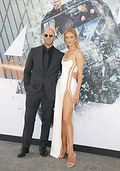 Jason Statham and Rosie Huntington-Whiteley at the World premiere of 'Fast & Furious Presents: Hobbs & Shaw' held at the Dolby Theatre in Hollywood, USA on July 13, 2019.
