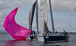 Largs Regatta Festival 2018<br /> <br /> Day 1- GBR2068R, Blue Jay, John Stanley-Whyte, RNCYC, J109<br /> <br /> Images: Marc Turner