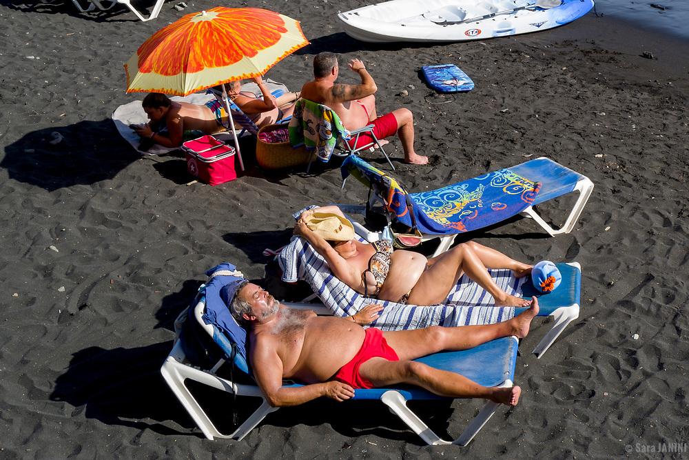Playa de Tazacorte, La Palma, Canarias, España, Europa