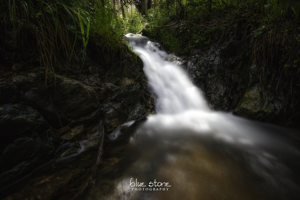 A once trickling mountain stream runs freely after a summer monsoon, depicting the ease after overcoming challenges.<br /> <br /> Wall art is available in metal, canvas, float wrap and standout. Art prints are available in lustre, glossy, matte and metallic finishes.