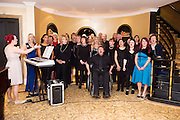 Ignite at the Gorta Self Help Africa Annual Ball in Hotel Meyrick Galway City. Photo: Andrew Downes, XPOSURE.