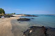 Ai'opio Beach, Kaloko-Honokohau National Historical Park, Honokahau, Kona, Island of Hawaii, Hawaii