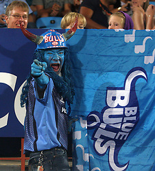Bulls fan.05 March 2011, Blue Bulls v Highlanders, Vodacom Super 15, Loftus Stadium, Pretoria,South Africa,.photo by Abbey Sebetha, Eagency