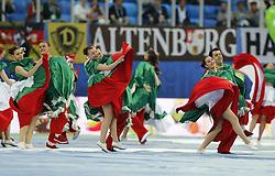 July 2, 2017 - Cerimônia de encerramento da Copa das Confederações 2017, antes da partida final entre Chile e Alemanha, neste domingo (02), realizada no Estádio Krestovsky (Arena Zenit), em São Petersburgo, na Rússia. (Credit Image: © Rodolfo Buhrer/Fotoarena via ZUMA Press)