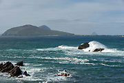 Slea Head with the Blasket Islands in West Kerry, Ireland.<br /> Picture by Don MacMonagle