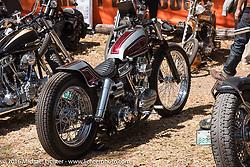 Bryan Lane's custom 1956 Harley-Davidson Panhead at Harley Davidson's Editor's Choice Bike Show at the Broken Spoke Saloon during Daytona Bike Week 75th Anniversary event. FL, USA. Wednesday March 9, 2016.  Photography ©2016 Michael Lichter.