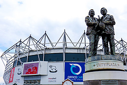 A general view of the Pride Park Stadium, home to Derby County - Mandatory by-line: Ryan Crockett/JMP - 11/05/2019 - FOOTBALL - Pride Park Stadium - Derby, England - Derby County v Leeds United - Sky Bet Championship Play-off Semi Final 1st Leg