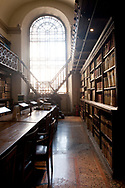 Reading room, Biblioteca Casanatense, Rome, Italy
