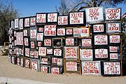 Television Wall Slab City California