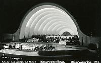 1931 The Hollywood Bowl at night
