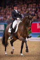 Jebsen Lilann (NOR) - Pro Set<br /> Kur - Reem Acra FEI World Cup Dressage Qualifier - The London International Horse Show Olympia - London 2012<br /> © Hippo Foto - Jon Stroud