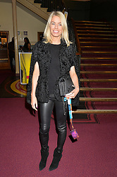 CAROLINE STANBURY at the Cirque Du Soleil's VIP performance of Kooza at The Royal Albert Hall, London on 6th January 2015.