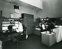 1939 Editing suite at Republic Studios on Ventura Blvd. in Studio City