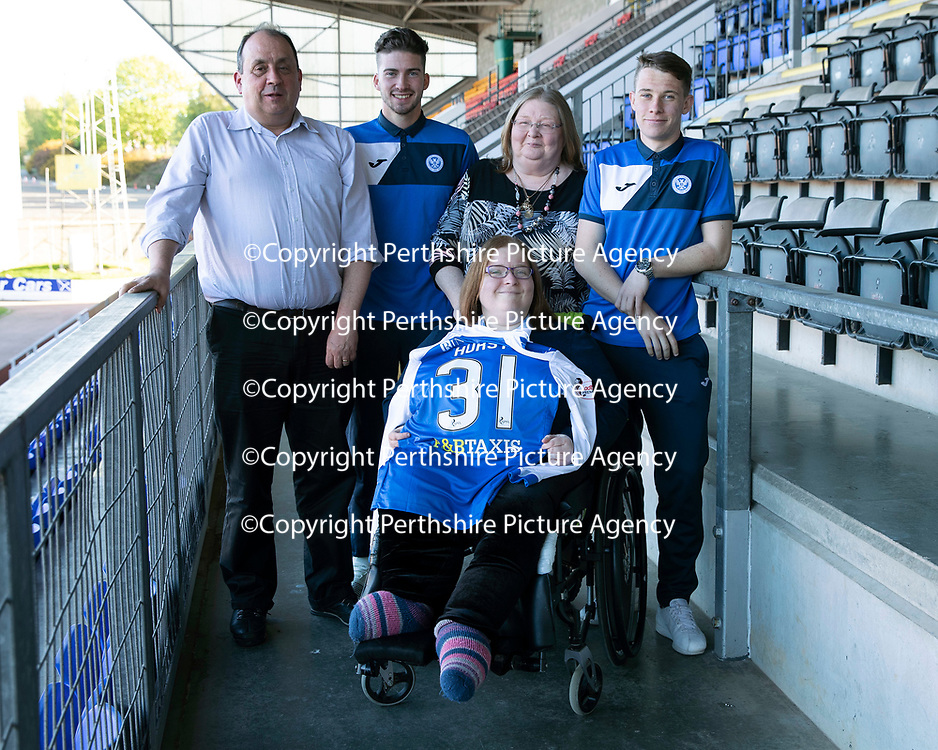 St Johnstone Players Sponsors Night…10.05.18<br />Greg Hurst and Kyle McClean<br />Picture by Graeme Hart.<br />Copyright Perthshire Picture Agency<br />Tel: 01738 623350  Mobile: 07990 594431