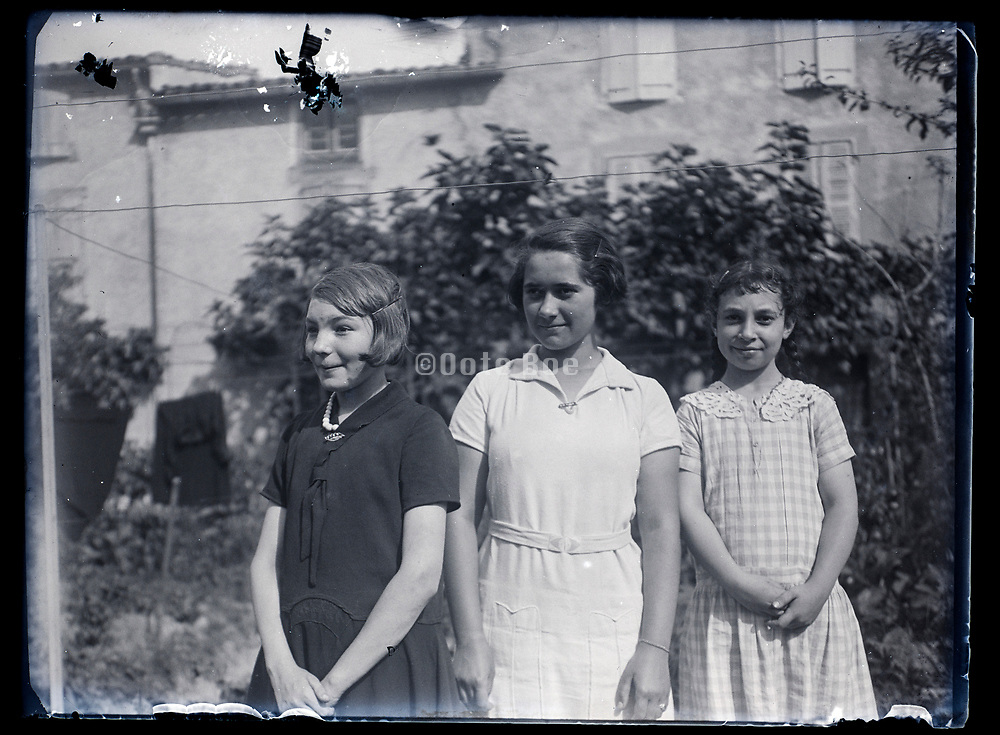 young girls together France 1933