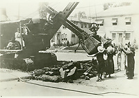 1921 Ladies protesting the tearing up the street in front of the Hollywood Bowl