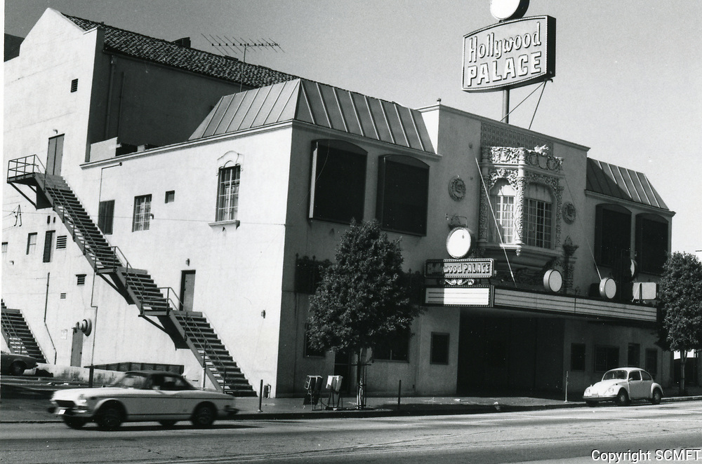 1978 Hollywood Palace Theater on Vine St.