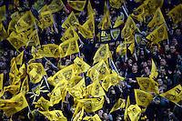 Supporters La Rochelle    - 10.04.2015 - La Rochelle / Stade Francais - 22e journee Top 14<br /> Photo : Caroline Blumberg / Icon Sport