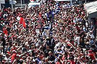 Arrivee Equipe Toulon - Trophee Champions Cup - 09.05.2015 - Toulon / Castres - 24eme journee de Top 14 <br /> Photo : Alexandre Dimou / Icon Sport