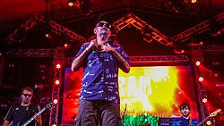 Ultramen se apresenta no Palco Atlântida durante a 22ª edição do Planeta Atlântida. O maior festival de música do Sul do Brasil ocorre nos dias 3 e 4 de fevereiro, na SABA, na praia de Atlântida, no Litoral Norte gaúcho.  Foto: Lucas Uebel / Agência Preview
