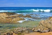 Waves At Crystal Cove Laguna Beach