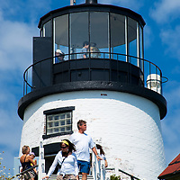 Located south of Rockland, Maine on a small peninsula projecting northeast into Penobscot Bay, it was built in 1825.