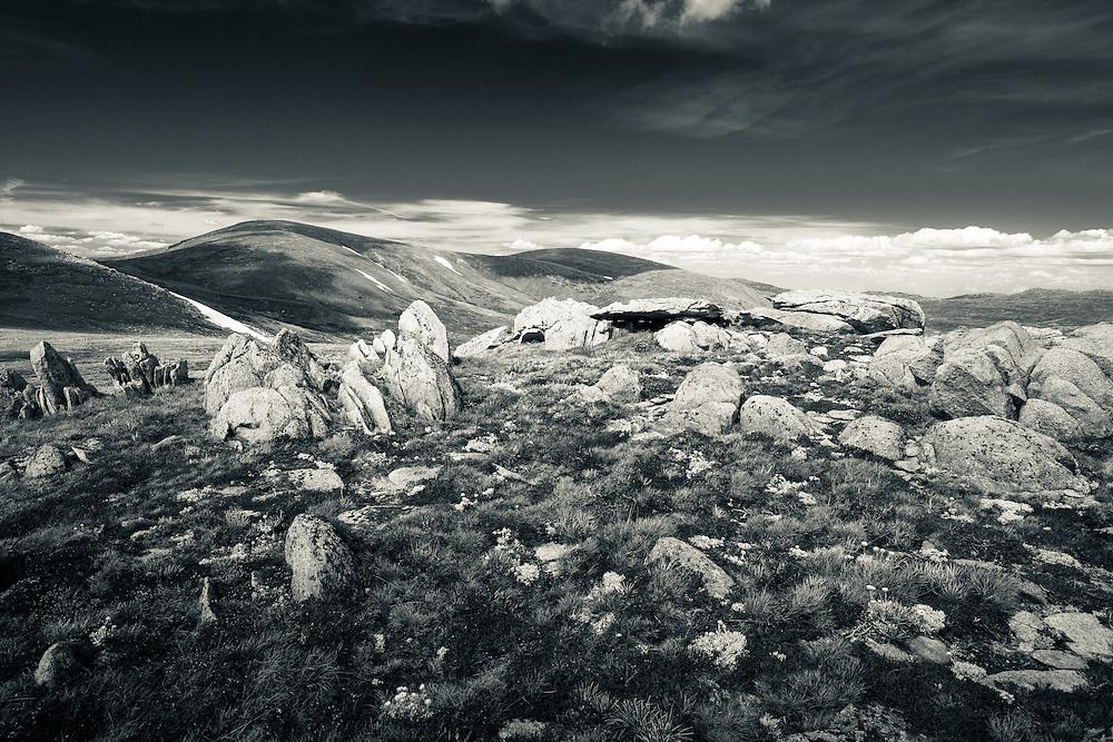 Rocky plains between Mt Kosciuszko and Muellers Peak, Kosciuszko National Park