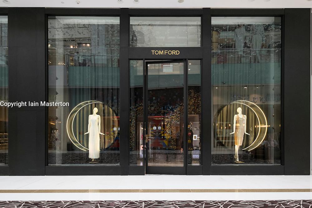 Tom Ford store in Dubai Mall United Arab Emirates