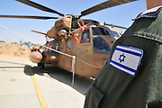 Israel, Hazirim, near Beer Sheva, Israeli Air Force museum. The national centre for Israel's aviation heritage. Sikorsky CH-53 on ground