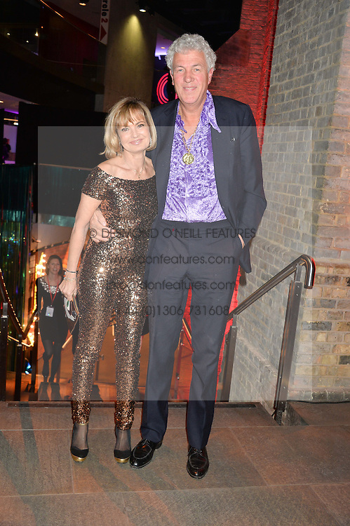 HENRY WYNDHAM and COUNTESS MAYA VON SCHONBURG at a Night of Disco in aid of Save The Children held at The Roundhouse, Chalk Farm Road, London on 5th March 2015.