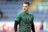 Aston Villa's Thomas Heaton during the pre-match warm-up <br /> <br /> Photographer Rich Linley/CameraSport<br /> <br /> The Premier League - Burnley v Aston Villa - Wednesday 1st January 2020 - Turf Moor - Burnley<br /> <br /> World Copyright © 2020 CameraSport. All rights reserved. 43 Linden Ave. Countesthorpe. Leicester. England. LE8 5PG - Tel: +44 (0) 116 277 4147 - admin@camerasport.com - www.camerasport.com