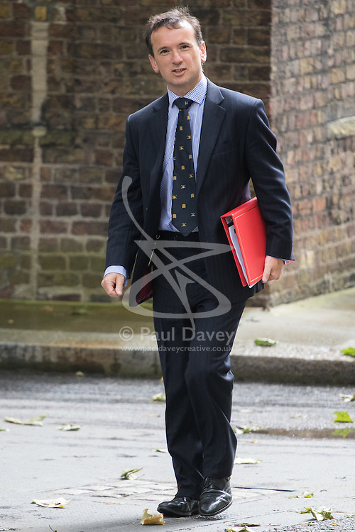 Downing Street, London, June 14th 2016. Welsh Secretary Alun Cairn arrives at 10 Downing Street to attend the weekly cabinet meeting.