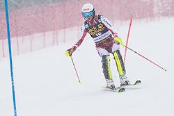 Pertl Adrian (AUT) during the Audi FIS Alpine Ski World Cup Men's  Slalom at 60th Vitranc Cup 2021 on March 14, 2021 in Podkoren, Kranjska Gora, Slovenia Photo by Grega Valancic / Sportida